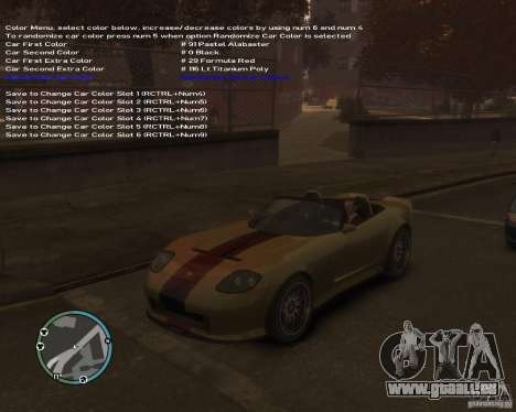 Simple Native Trainer v6.4 für GTA 4 achten Screenshot