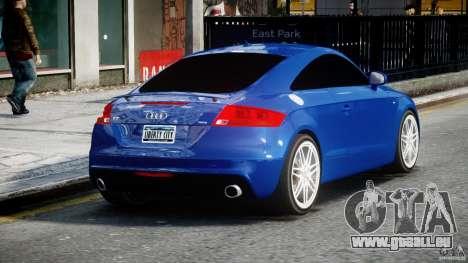 Audi TT RS Coupe v1.0 pour GTA 4 est un côté