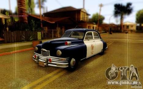 Packard Touring Police für GTA San Andreas