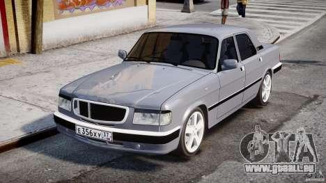 GAZ 3110 Turbo WRX STI v1. 0 für GTA 4 Innenansicht