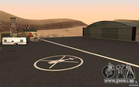 New Verdant Meadows Airstrip pour GTA San Andreas quatrième écran