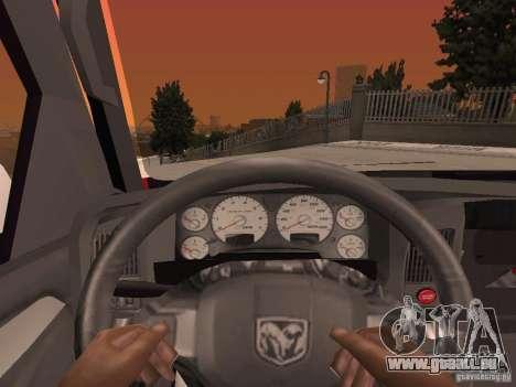 Dodge Ram 2010 für GTA San Andreas Seitenansicht