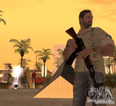 Frank Woods de Call of Duty Black Ops pour GTA San Andreas