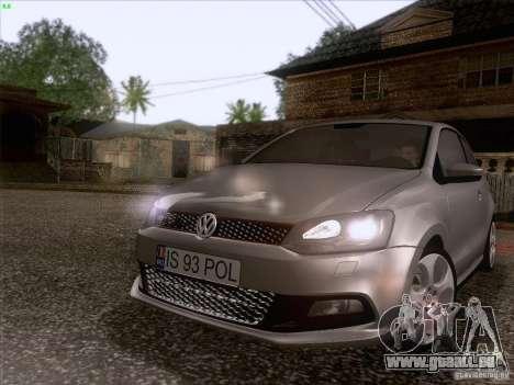 Volkswagen Polo GTI 2011 für GTA San Andreas linke Ansicht