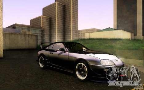 Toyota Supra D1 1998 pour GTA San Andreas vue intérieure