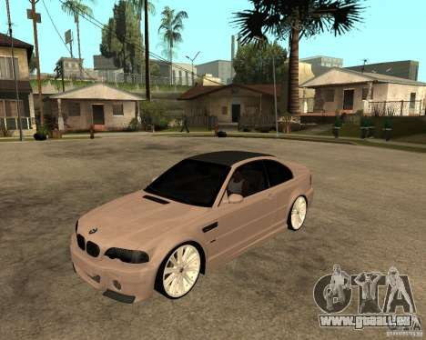 BMW M3 CSL E46 G-Power für GTA San Andreas