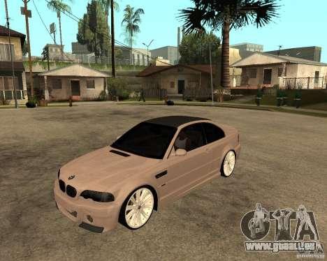 BMW M3 CSL E46 G-Power pour GTA San Andreas