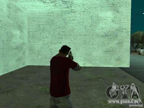 FN Scar-L HD für GTA San Andreas her Screenshot