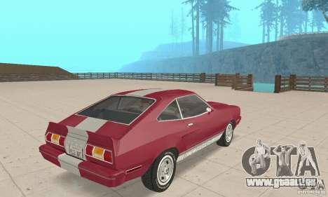 Ford Mustang II 1976 Cobra v. 1.01 für GTA San Andreas linke Ansicht