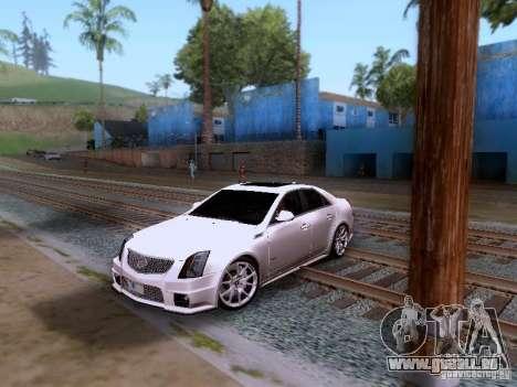 Cadillac CTS-V 2009 für GTA San Andreas