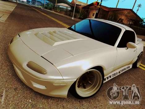 Mazda MX-5 Miata Rocket Bunny für GTA San Andreas