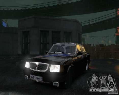 Volga gaz 3110 pour GTA 4 est un côté