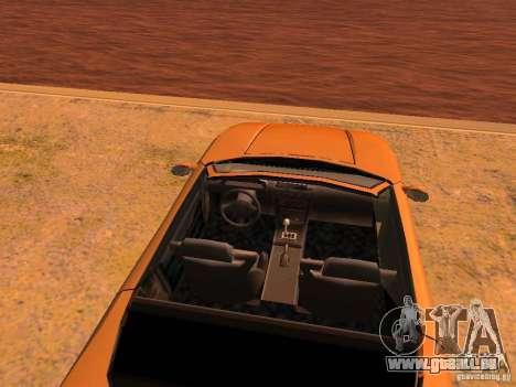 Infernus Revolution pour GTA San Andreas roue