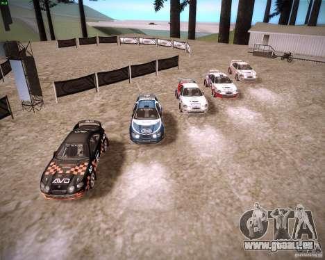 Toyota Celica ST-205 GT-Four Rally für GTA San Andreas