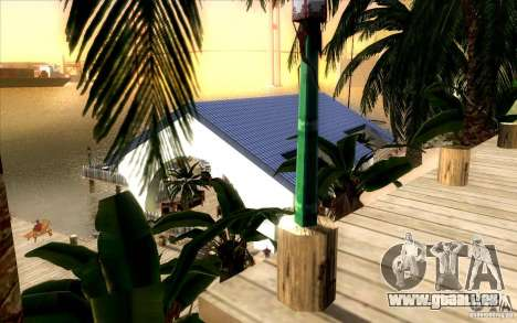 Beach Club pour GTA San Andreas deuxième écran