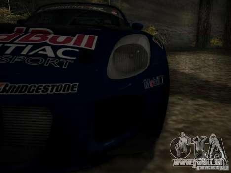 Pontiac Solstice Redbull Drift v2 pour GTA San Andreas vue de côté