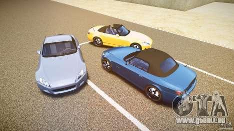 Honda S2000 2002 v2 pour une balade tranquille pour le moteur de GTA 4