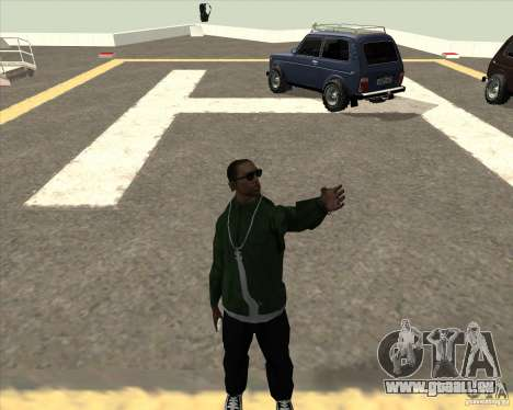 Andere animation für GTA San Andreas zweiten Screenshot