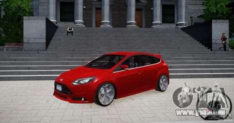 Ford Focus ST 2012 pour GTA 4