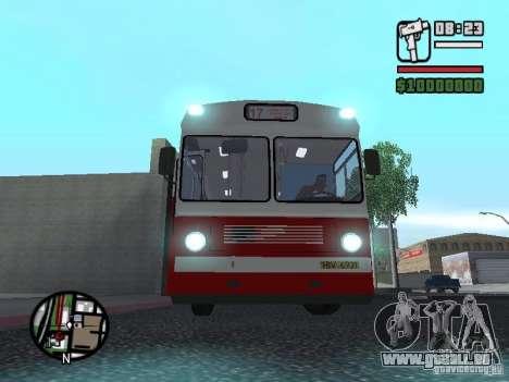 Ikarus Ik4 für GTA San Andreas zurück linke Ansicht