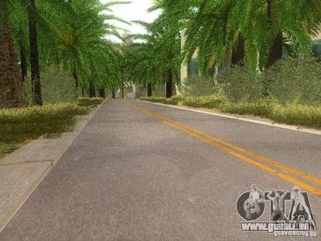 Modification Of The Road pour GTA San Andreas sixième écran