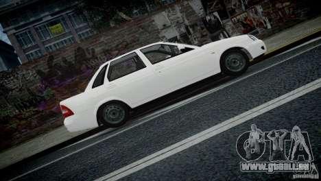 Lada Priora für GTA 4 Seitenansicht