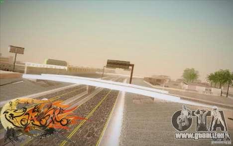 New Roads Las Venturas v1.0 pour GTA San Andreas troisième écran