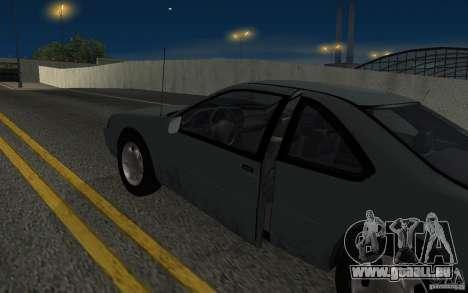 Ford Thunderbird 1993 für GTA San Andreas Innenansicht