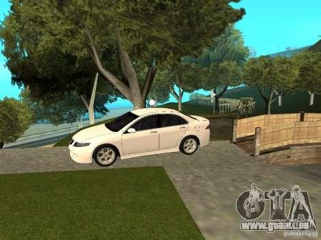 Honda Accord Type S 2003 pour GTA San Andreas sur la vue arrière gauche