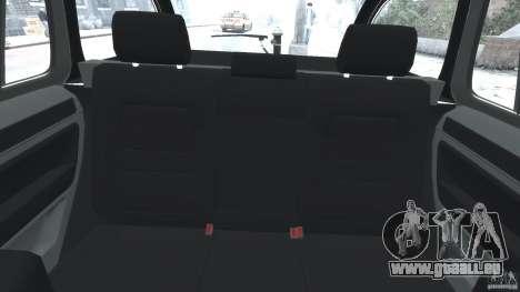 Skoda Octavia Scout NYPD [ELS] pour GTA 4 Vue arrière