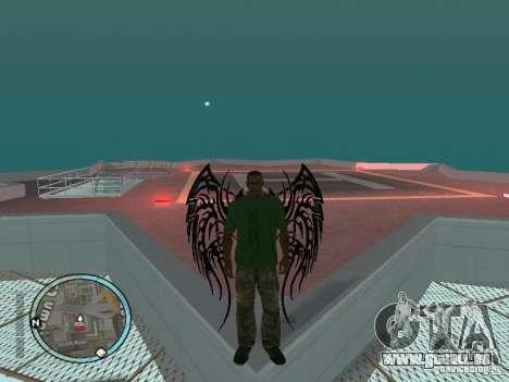 Flügel-Wings für GTA San Andreas zweiten Screenshot