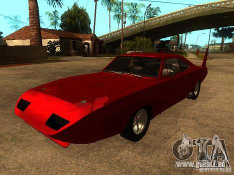 Dodge Charger Daytona Fast & Furious 6 pour GTA San Andreas