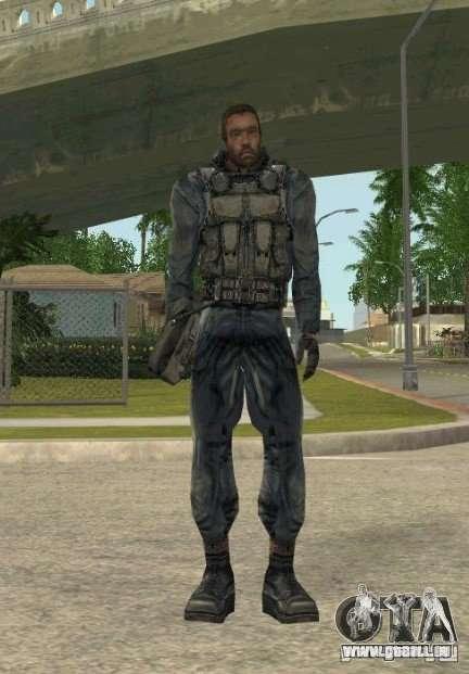 Regroupement de mercenaires d'un harceleur pour GTA San Andreas