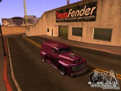 49 Ford HR Van pour GTA San Andreas