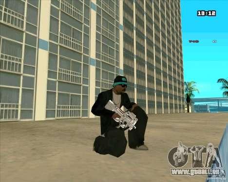 Chrome Weapon Pack pour GTA San Andreas quatrième écran