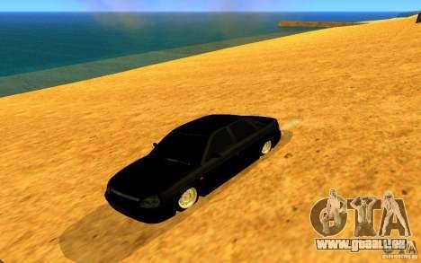 VAZ-2170 LIGTI tuning für GTA San Andreas zurück linke Ansicht