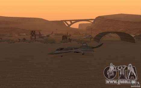 YF-23 pour GTA San Andreas