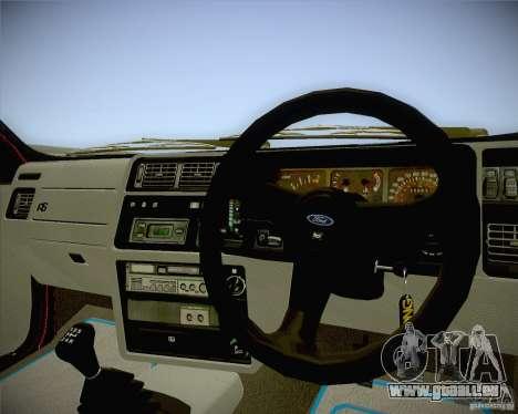 Ford Sierra RS500 Race Edition für GTA San Andreas rechten Ansicht