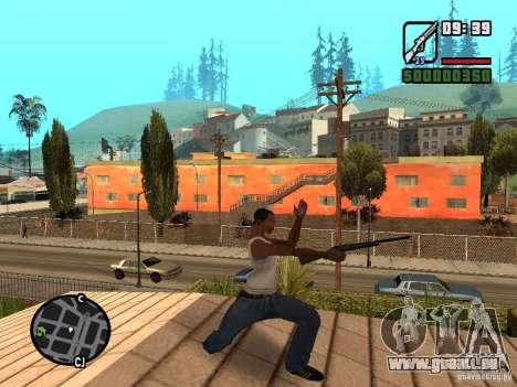 Remington 700 pour GTA San Andreas deuxième écran