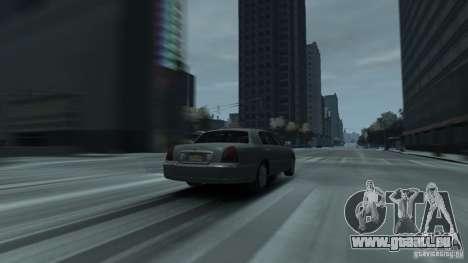 Lincoln Town Car 2003-11 v1.0 pour GTA 4 Vue arrière de la gauche