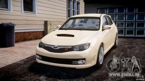 Subaru Impreza WRX STi 2009 für GTA 4