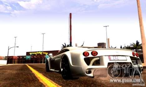 Noble M600 Final für GTA San Andreas rechten Ansicht