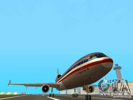 McDonell Douglas MD11 American Airlines für GTA San Andreas Innenansicht