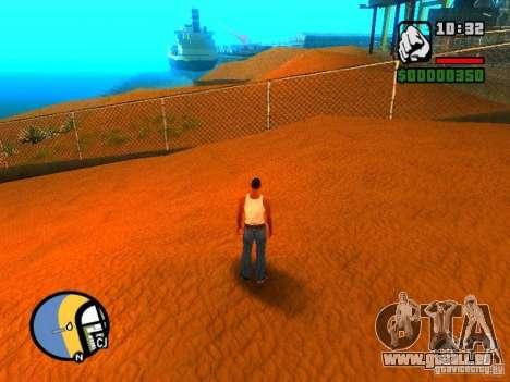 Textures de East Beach pour GTA San Andreas cinquième écran