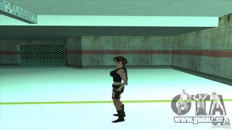 Lara Croft für GTA San Andreas dritten Screenshot