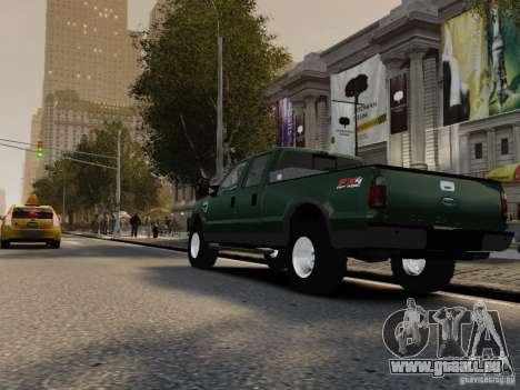 Ford F-250 FX4 2009 pour GTA 4 est un droit
