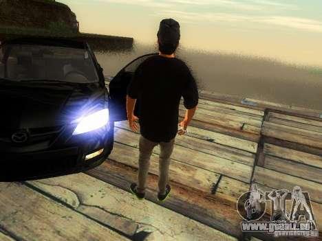 Garçon au FBI pour GTA San Andreas quatrième écran