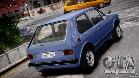 Volkswagen Golf Mk1 pour GTA 4 Salon