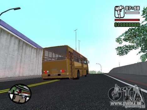 IKARUS 260,37 pour GTA San Andreas vue arrière