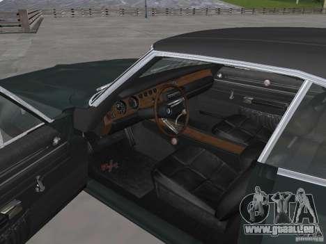 Dodge Charger 1969 für GTA San Andreas rechten Ansicht